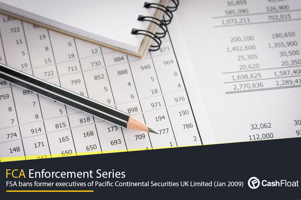 FSA bans former executives of Pacific Continental Securities UK Limited (Jan 2009)