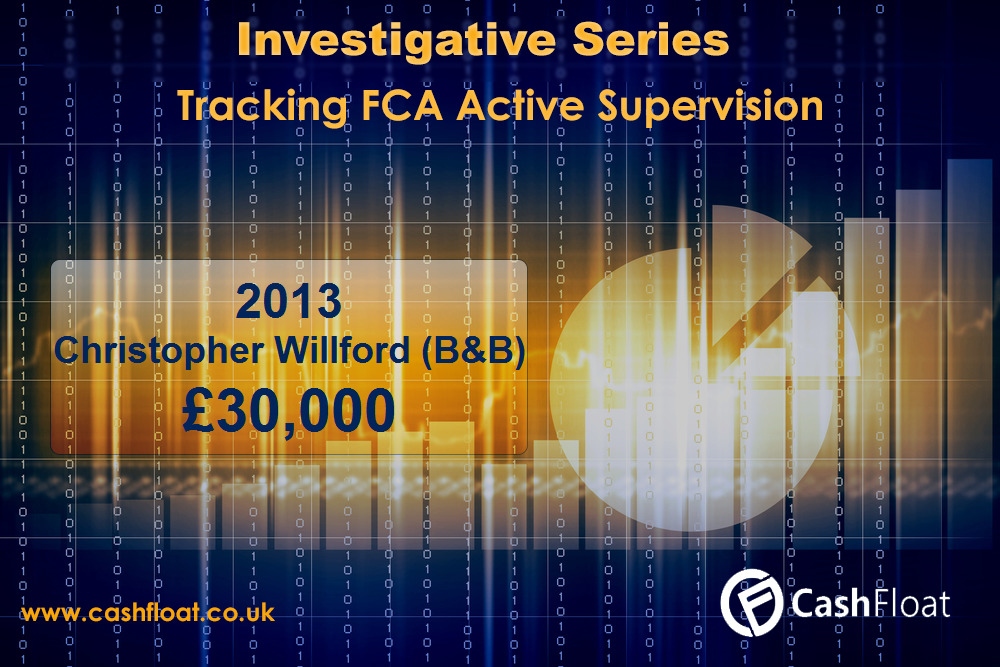 Christopher Willford fined by FCA - CAshfloat
