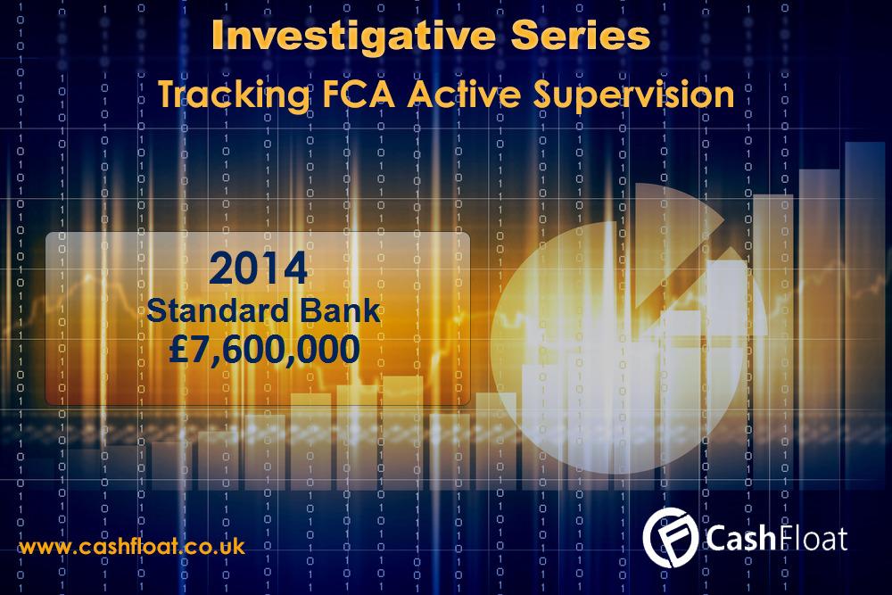 Standard Bank fined by FCA, Cashfloat