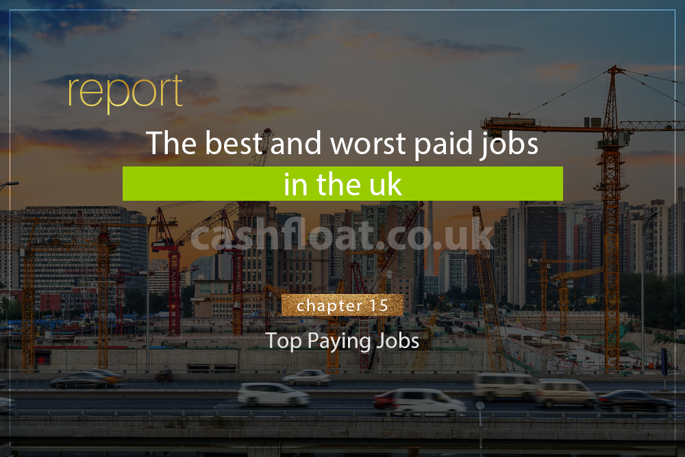 About earning a huge salary but what exactly do the best paying jobs