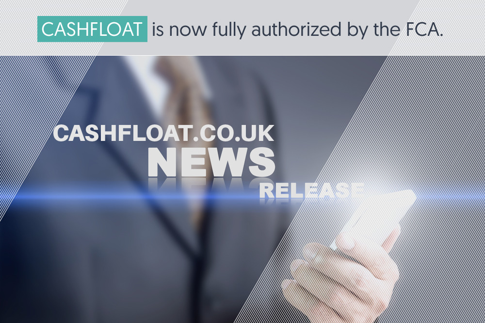 Cashfloat is fully authorized by the FCA