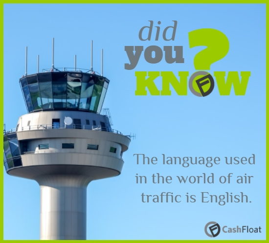 the official language of air traffic is English- cashfloat