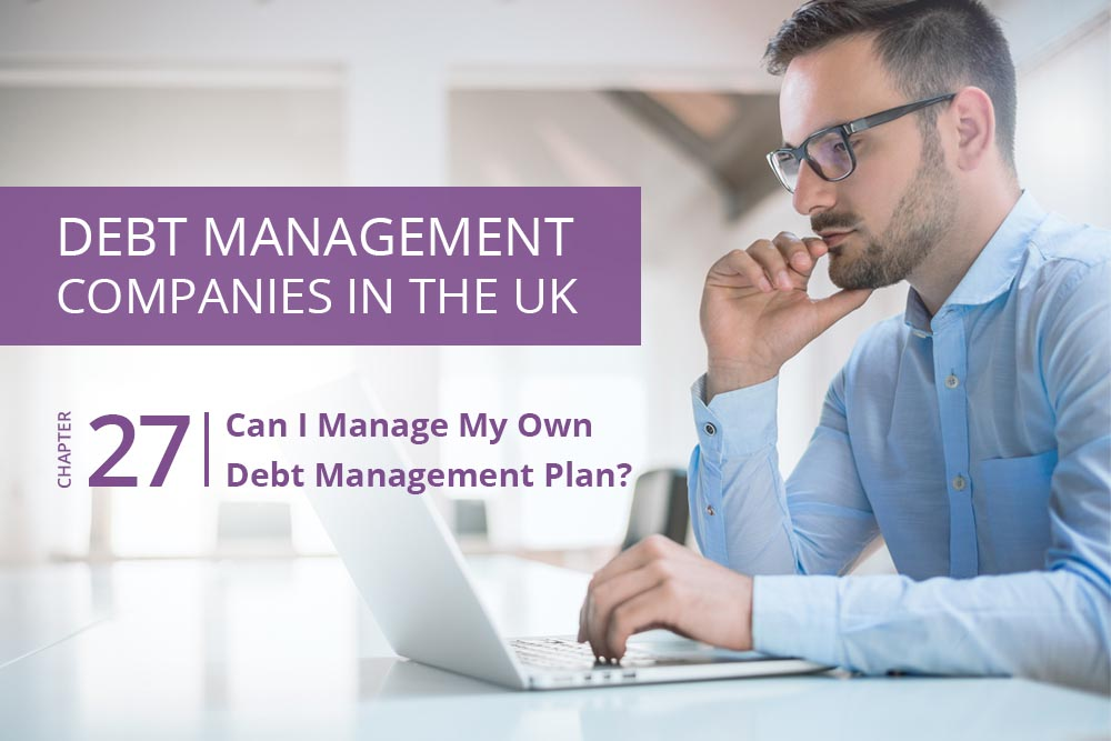 manage my own debt management plan - Cashfloat.