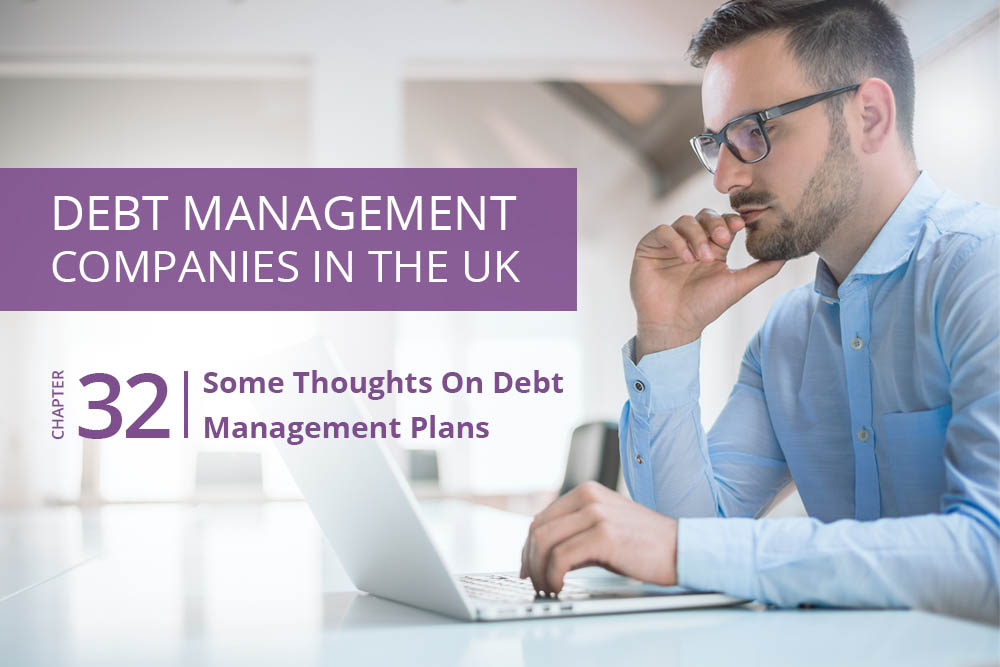 Some Thoughts On Debt Management Plans
