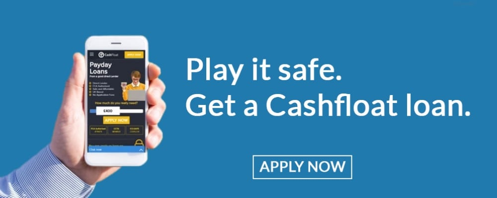 Apply now for your Cashfloat loan!