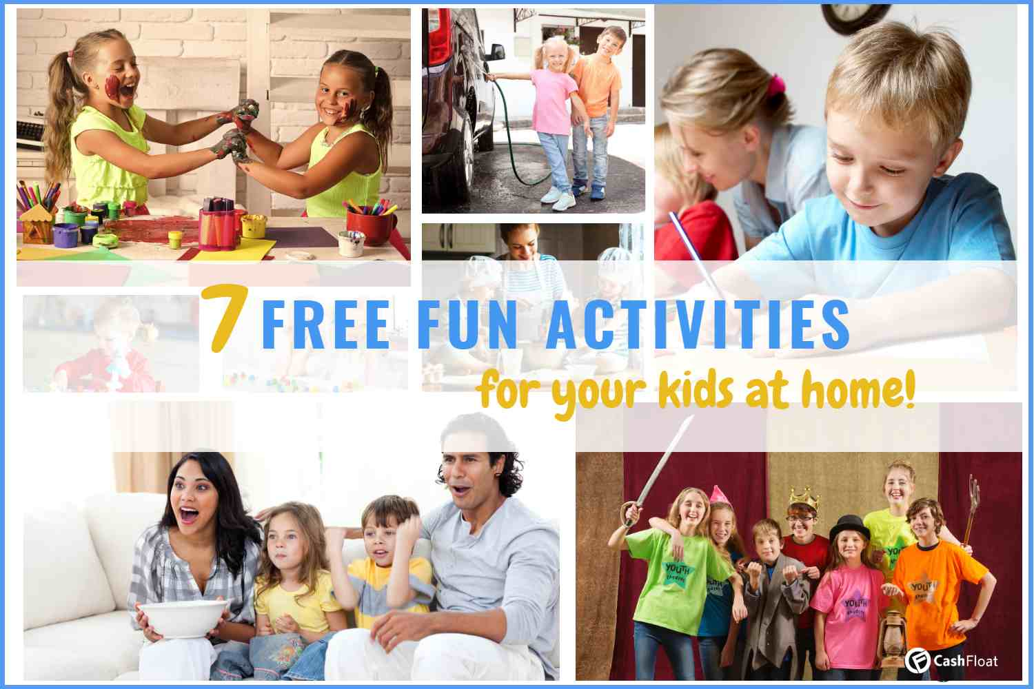 7 fun free activities for kids -Cashfloat