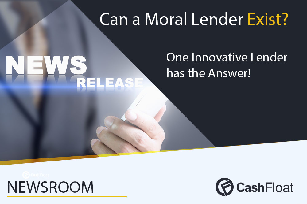 PRNewswire - Can a Moral Payday Lender Exist? One Innovative Lender has the Answer!