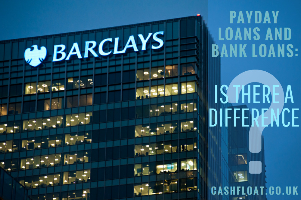 Payday Loans and Bank Loans: The difference