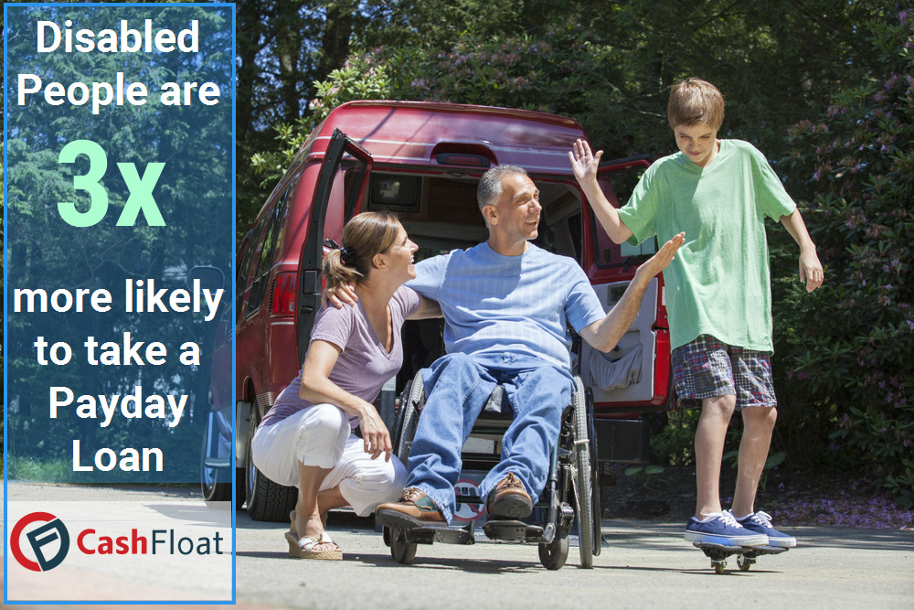 Payday Loan Lenders >> Payday Loans for Disabled People - Cashfloat