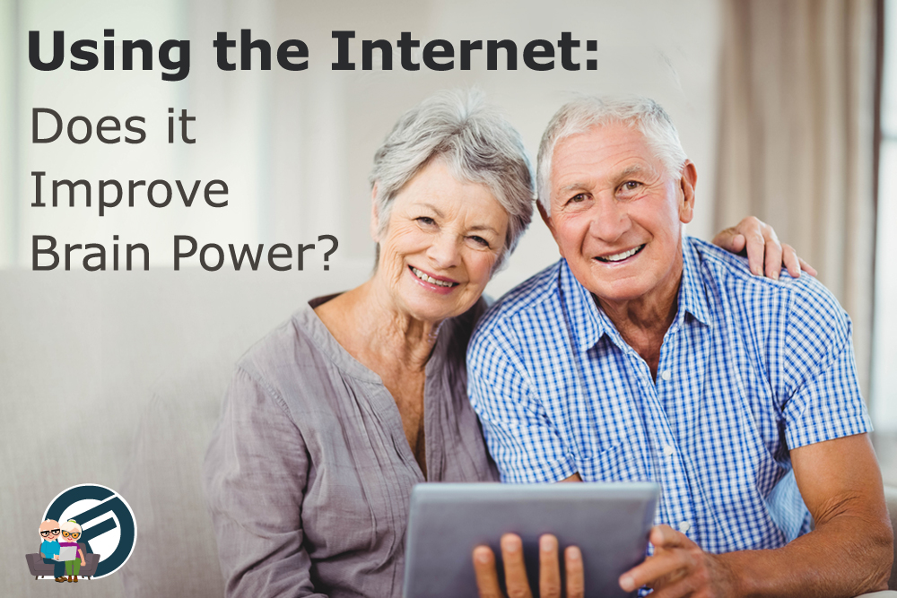 Seniors Learning Online Are Improving Brainpower