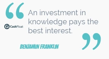 An investment in knowledge pays the best interest - Benjamin Franklin