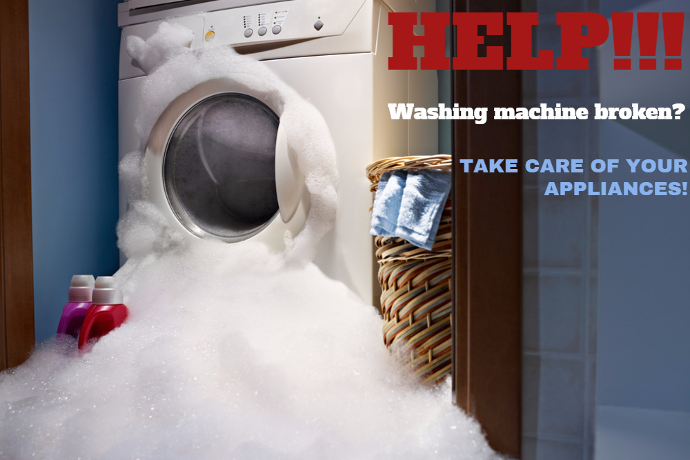 caring for your household appliances