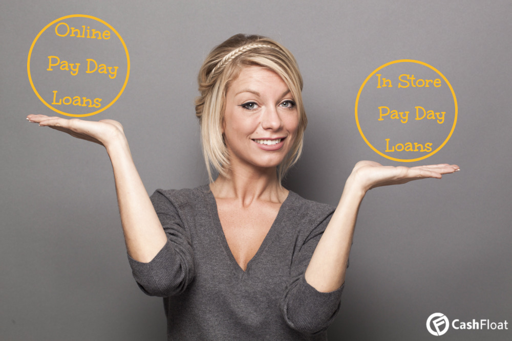 Differences between online and instore payday loans