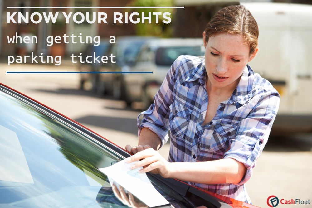 Learn your rights when you get a parking ticket