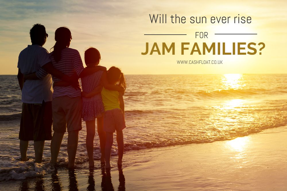 Cashfloat describe the challenges of JAM families.