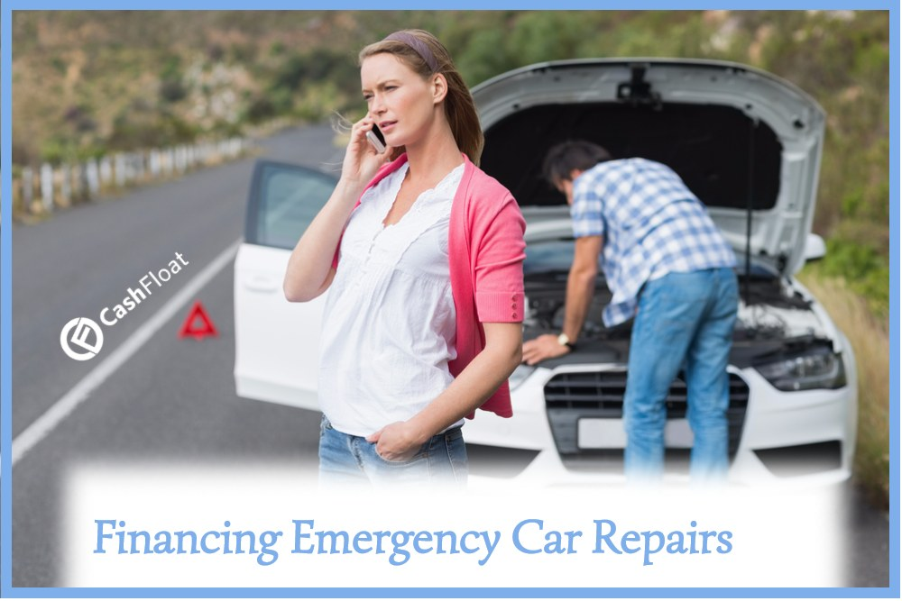 How do I finance emergency car repairs?