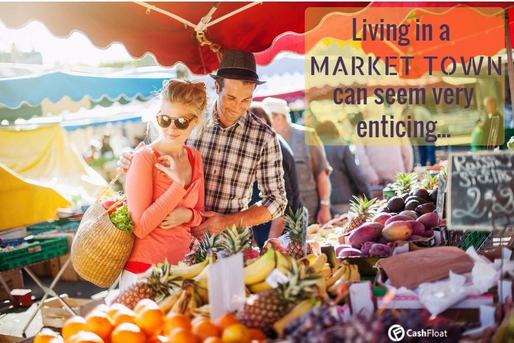 Living in a market town sounds like a dream come true, but is it.