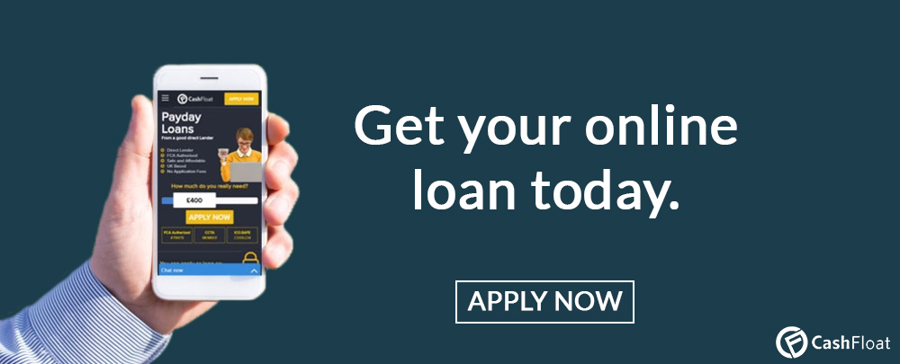 Apply today for a loan from Cashfloat