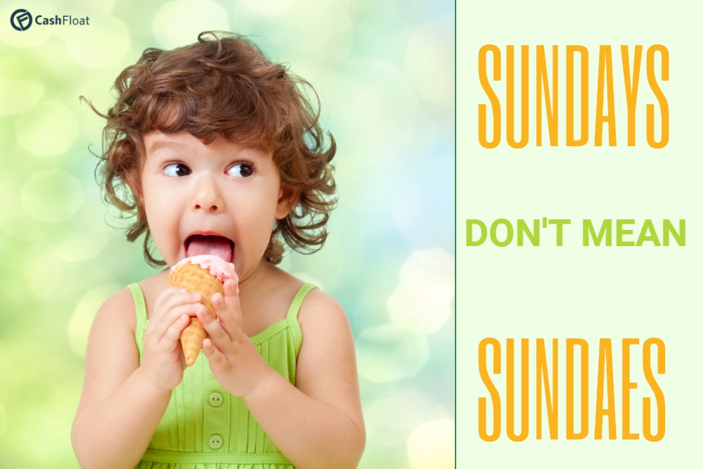Activities on Sundays doesn't Have to Mean Sundaes!