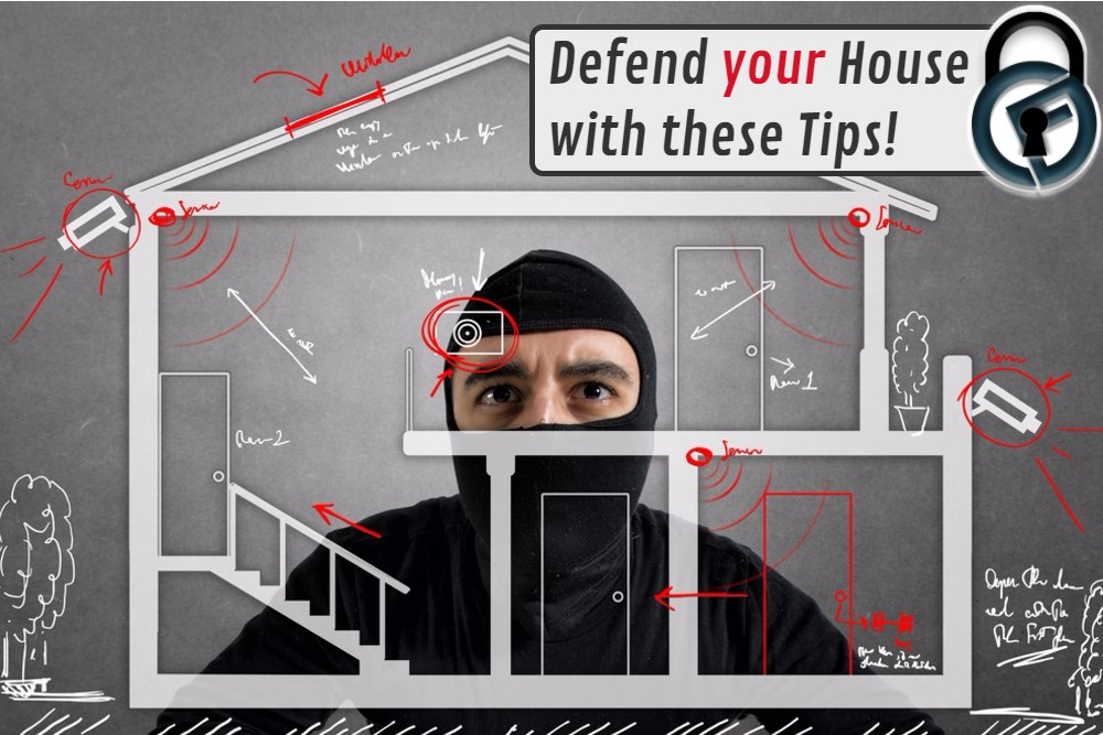 Cashfloat tips on how to guard your house from robbers.