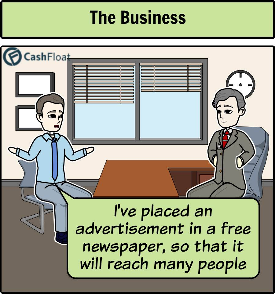 Advertising in print and digital newspapers - Cashfloat