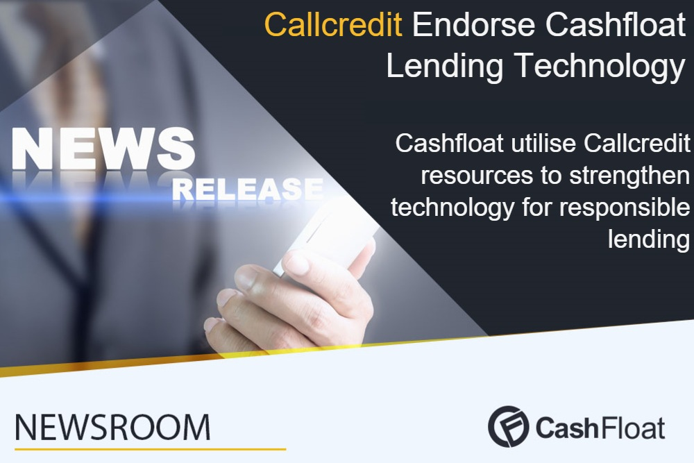 Cashfloat and Callcredit collaborate to provide responsible payday loans.