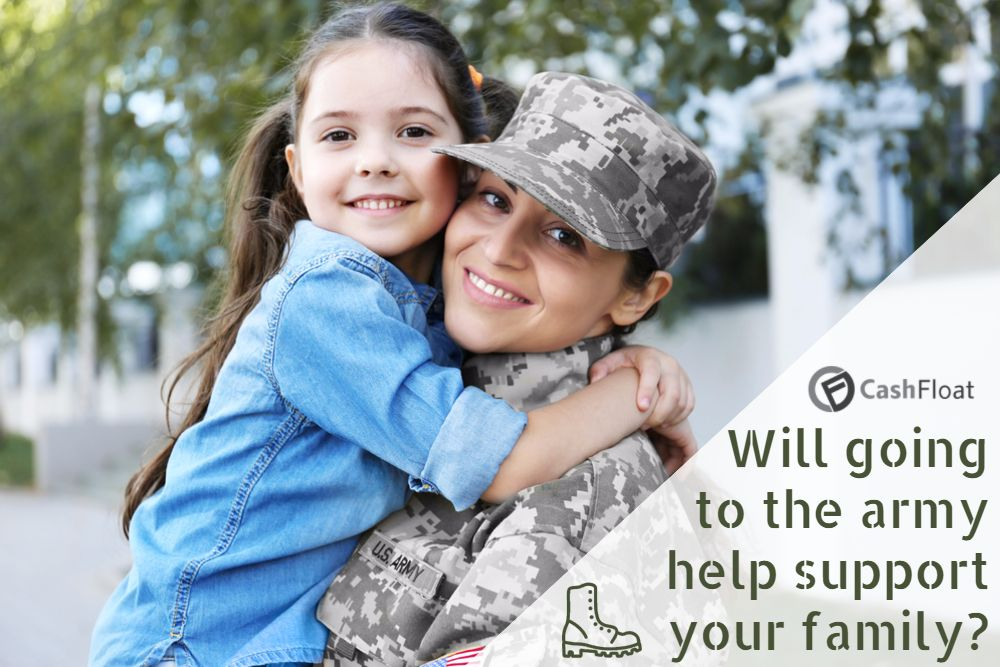 Does joining the army help you financially?