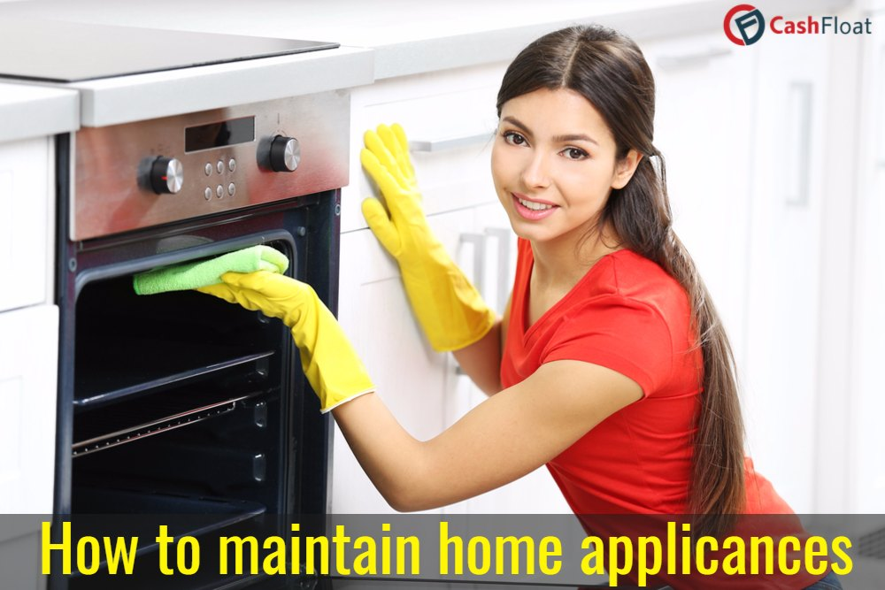 Maintaining home appliances, with Cashflot