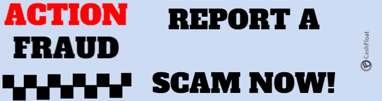 Report email scams - cashfloat