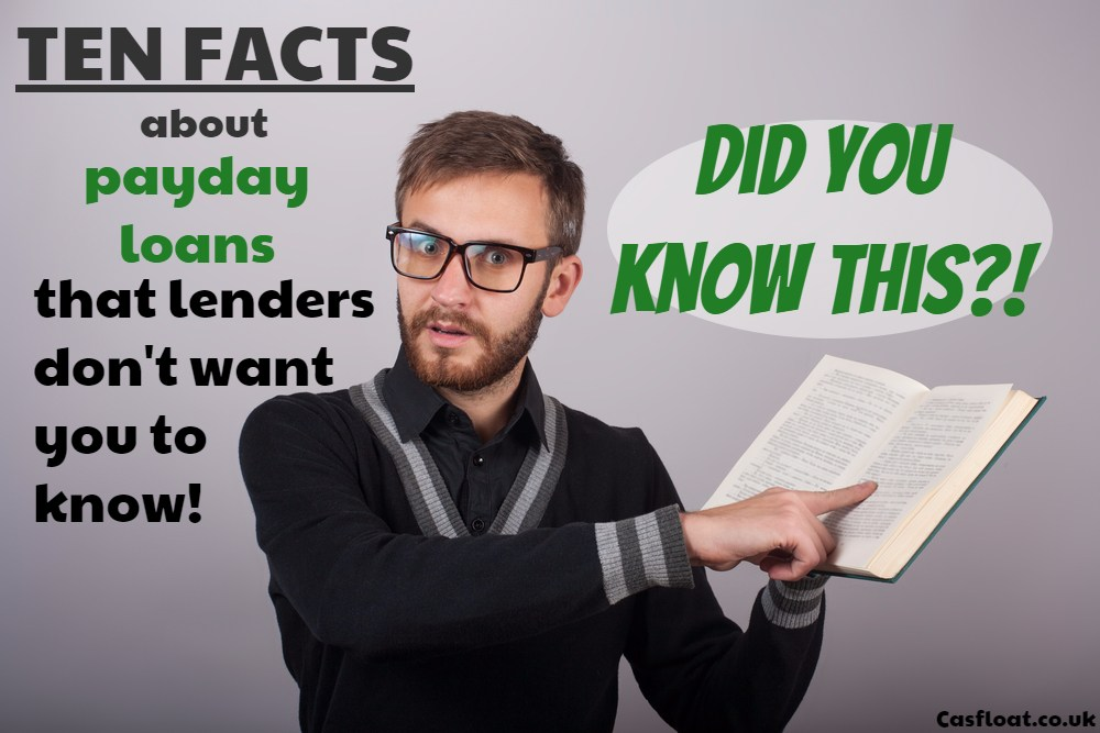 Important payday loan facts - Cashfloat
