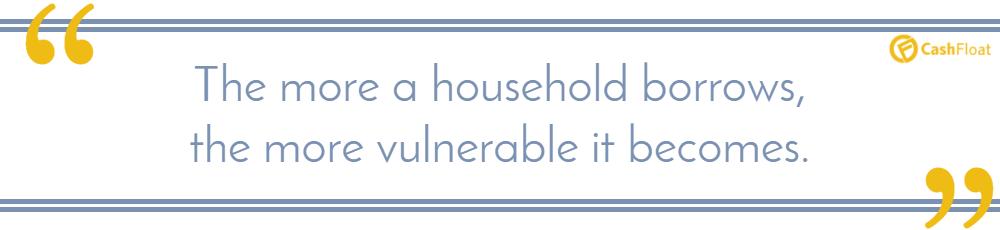 Cashfloat - household debt