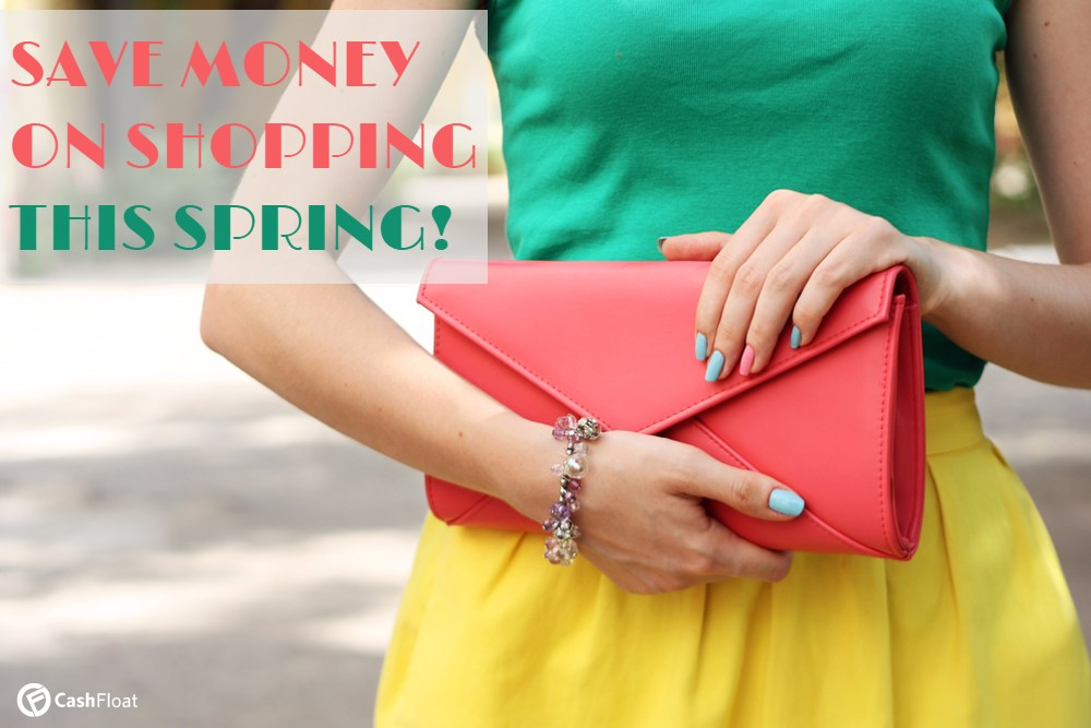 Save money on spring shopping with Cashfloat payday lender.