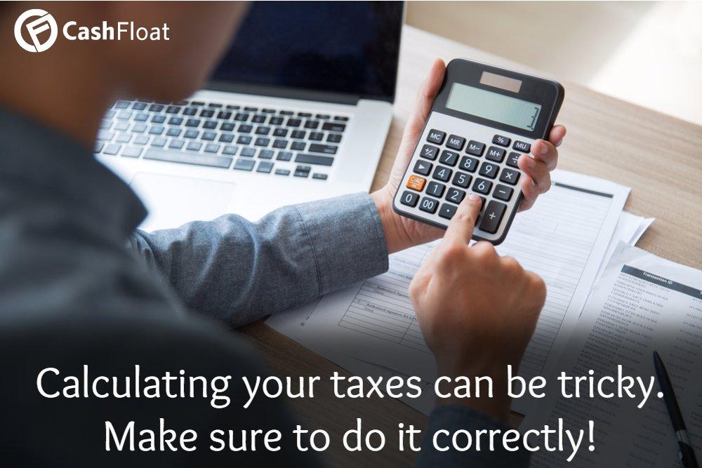 Cashfloat - new taxes