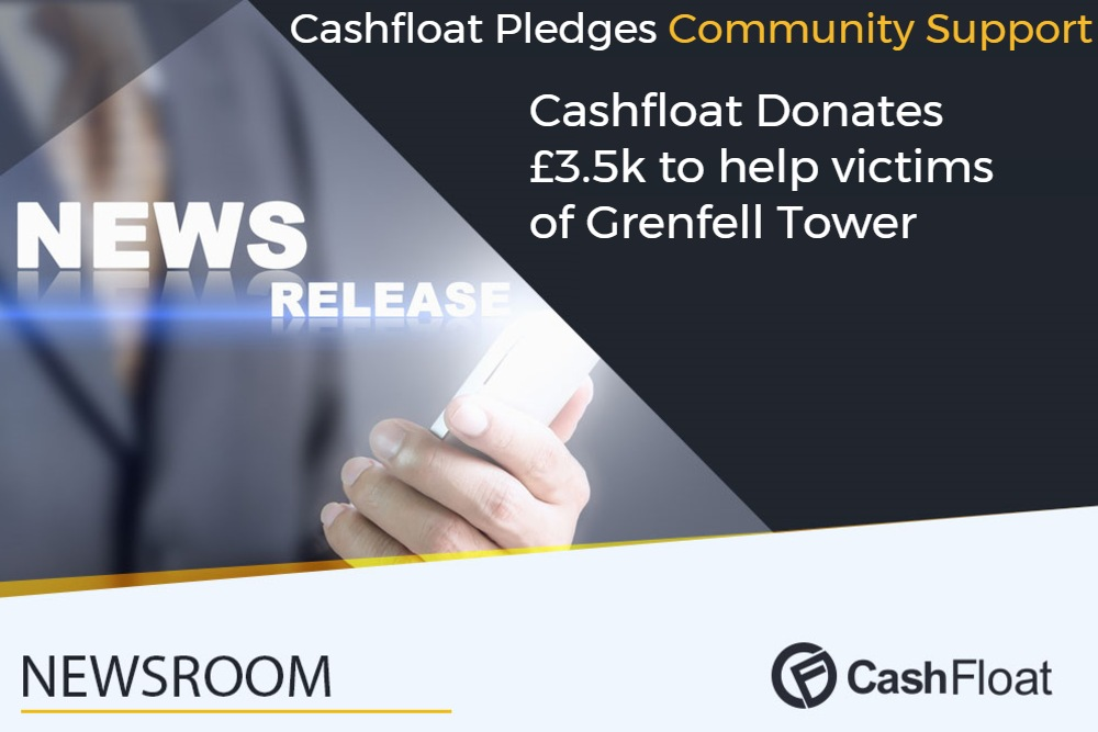 Cashfloat helps grenfell tower victims