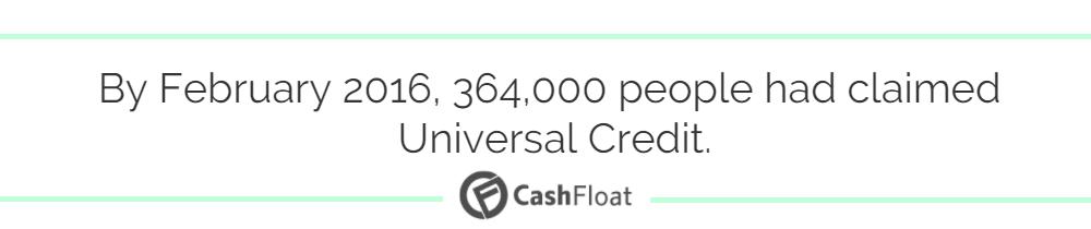 universal credit - cashfloat
