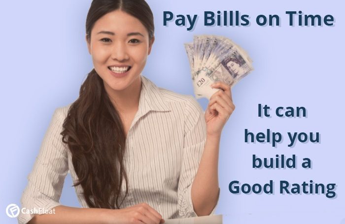paying bills on time can help you build a good credit rating - Cashfloat