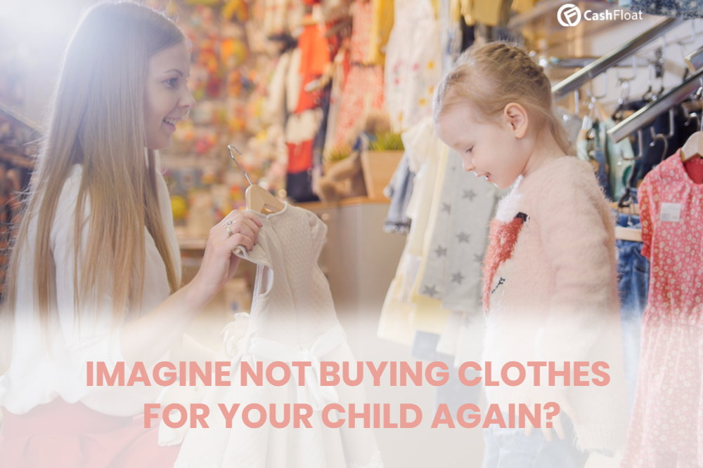 Cashfloat- clothes that grow with your children
