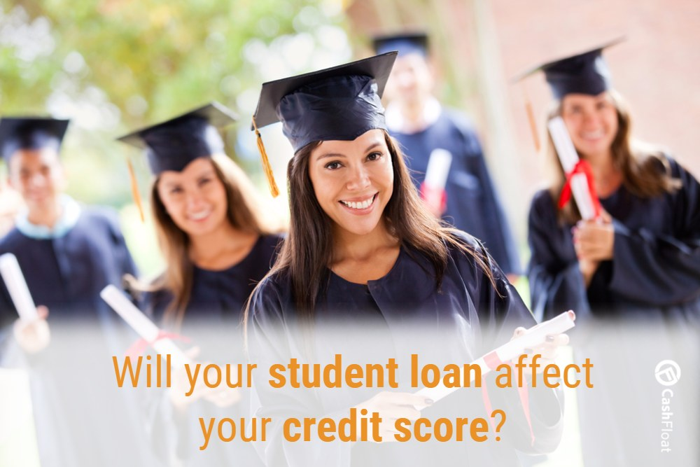 Cashfloat - Student Loans Affect Your Credit Report