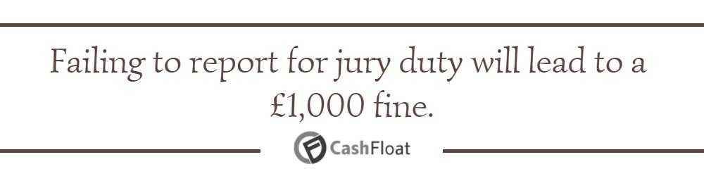 Self Employed Jury Duty Excuse Letter from www.cashfloat.co.uk