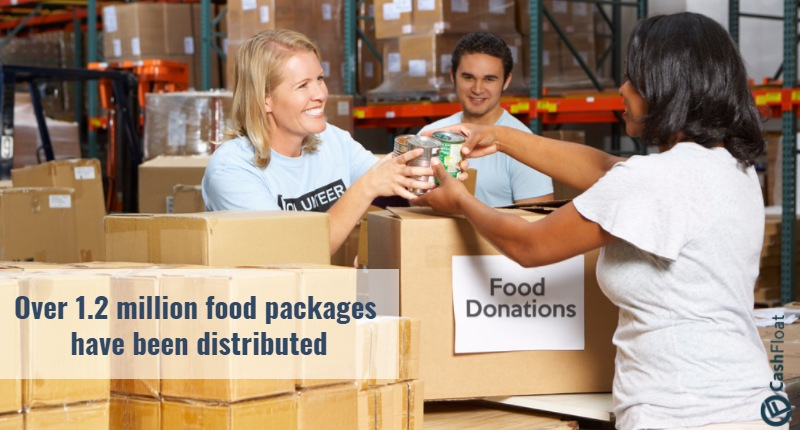 food banks - cashfloat