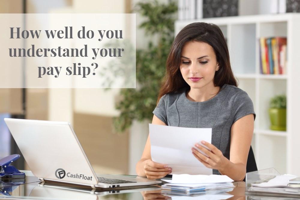 understand your payslip - cashfloat