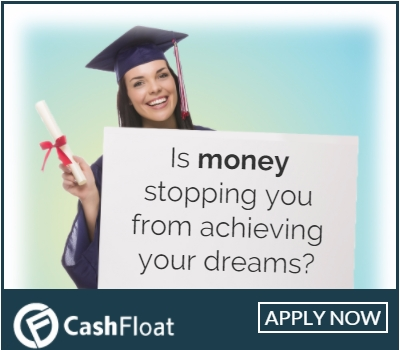 Cashfloat - payday loans not for students