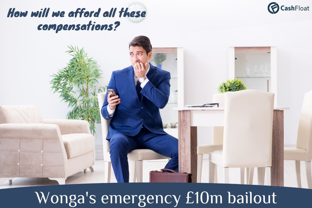 Wonga's emergency bailout - Cashfloat