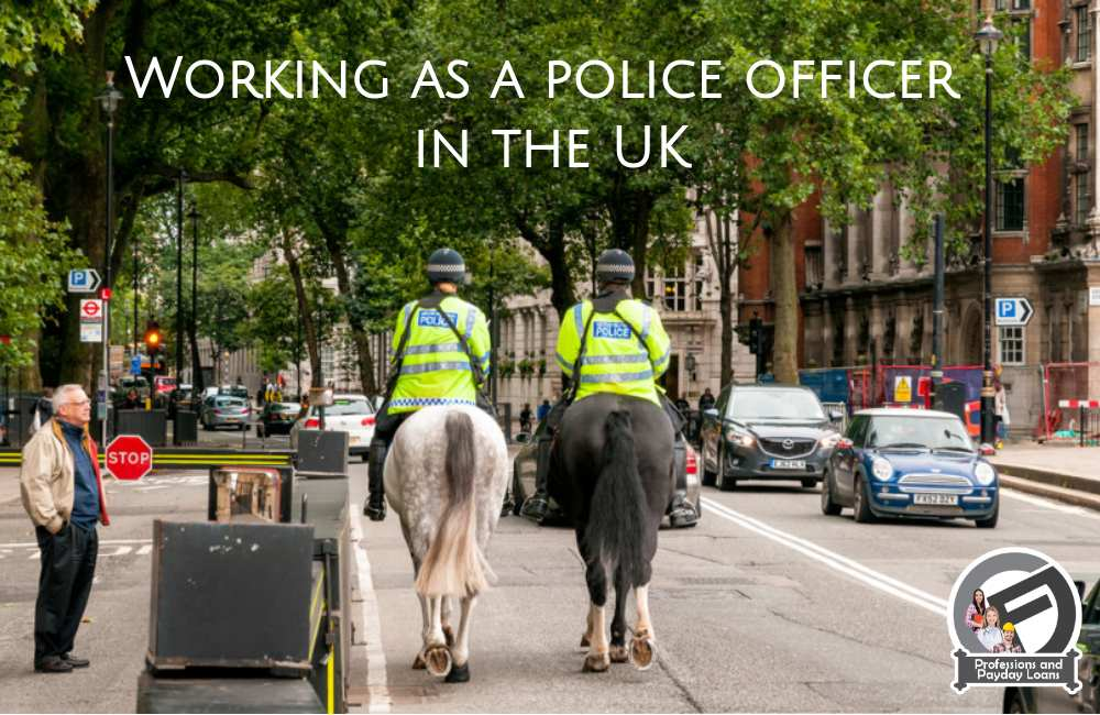 The police officer salary in the uk - Cashflloat