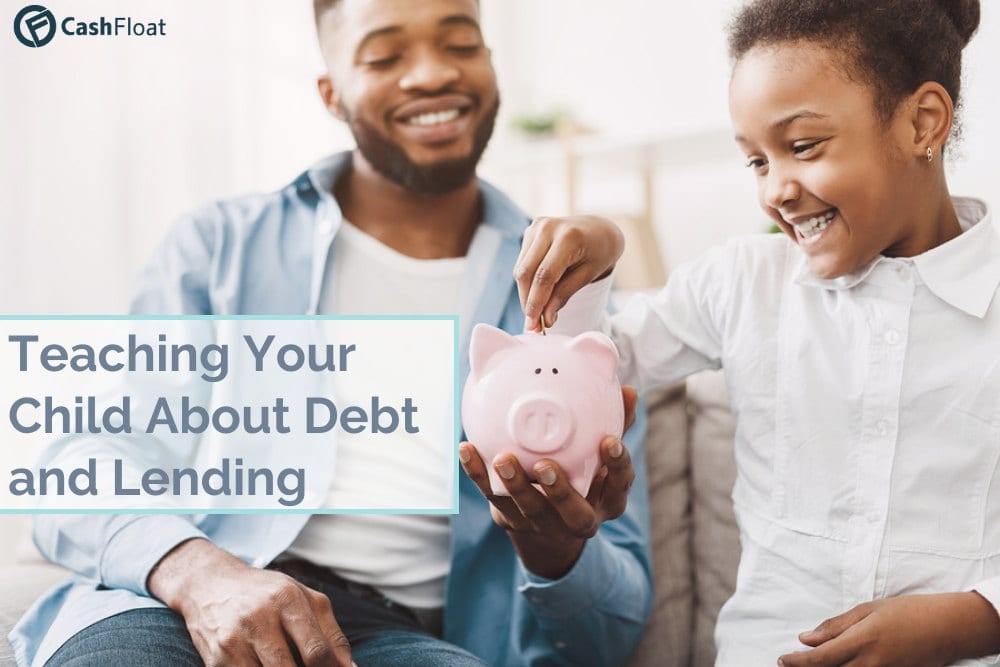 cashfloat's tips on teaching your child about debt