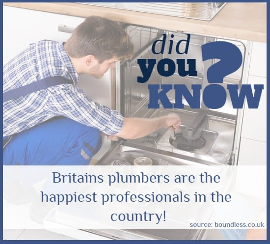 DId you know? Britains plumbers are the happiest professionals in the country! - Cashfloat