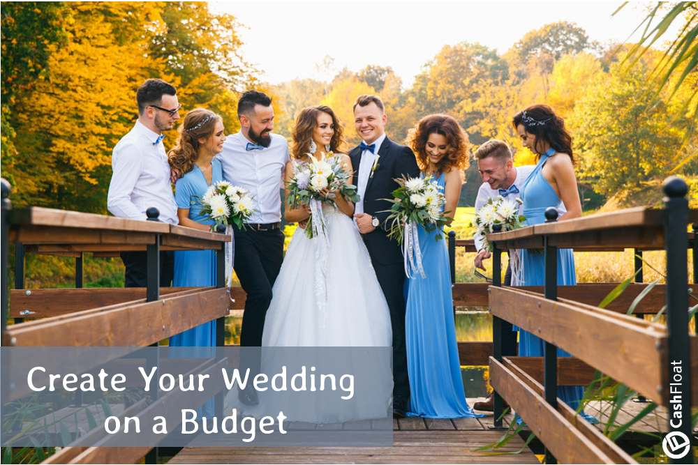 Create you wedding on a budget with Cashfloat