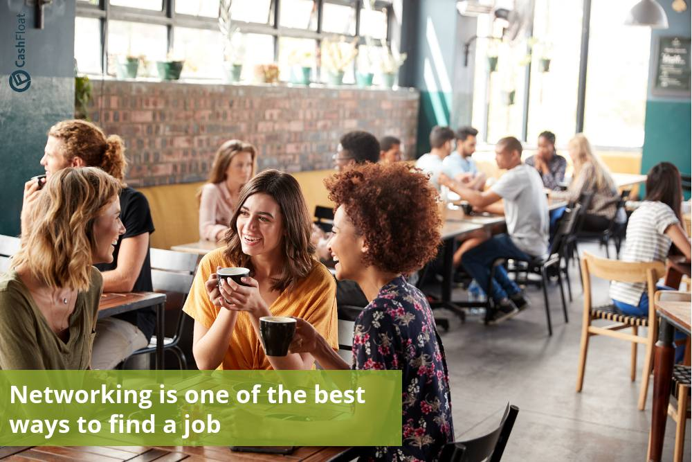 Networking is one of the best ways to find a job - Cashfloat