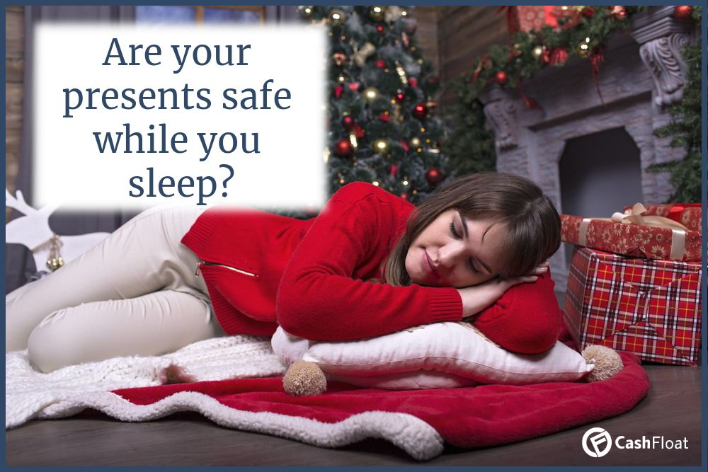 Are your presents safe while you sleep? - Read about contents insurance with Cashfloat