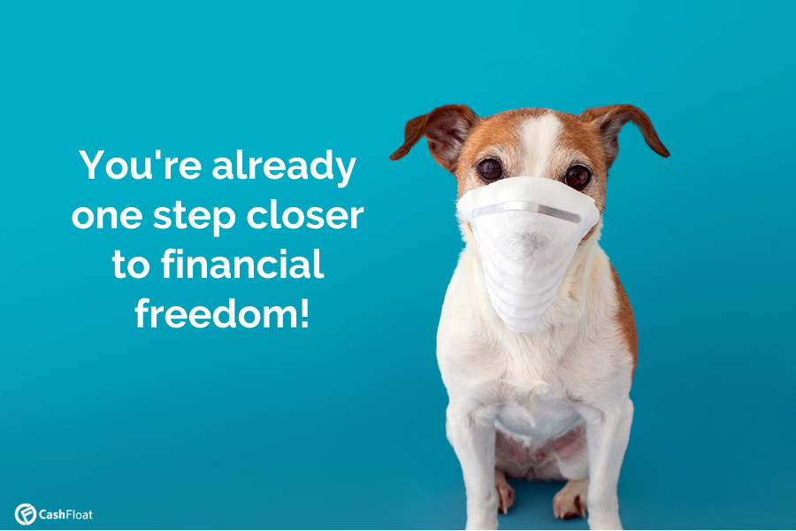 You're already one step closer to financial freedom!- Cashfloat